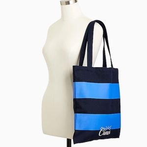 VIP Crew rugby striped tote